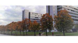 Bielefeld University main building
